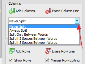 convertir de pdf a excel opciones