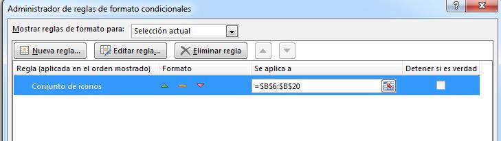 4 editar formato condicional