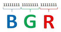 Colores en binario